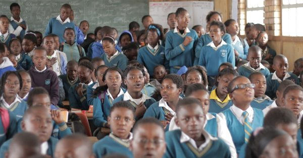 Children in South Africa Are Reaching For Life Through God's Word