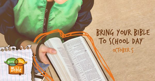 Bring Your Bible to School Day, October 5th, 2017