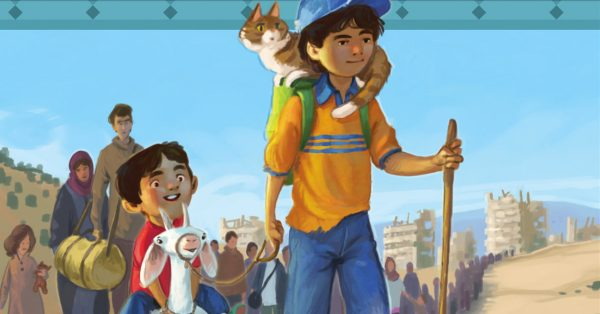 This Unique Book is Bringing God's Word to the Children of Syria's Civil War