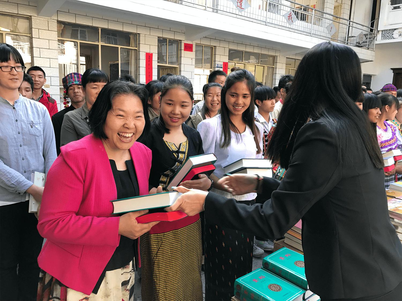 People receiving God's Word