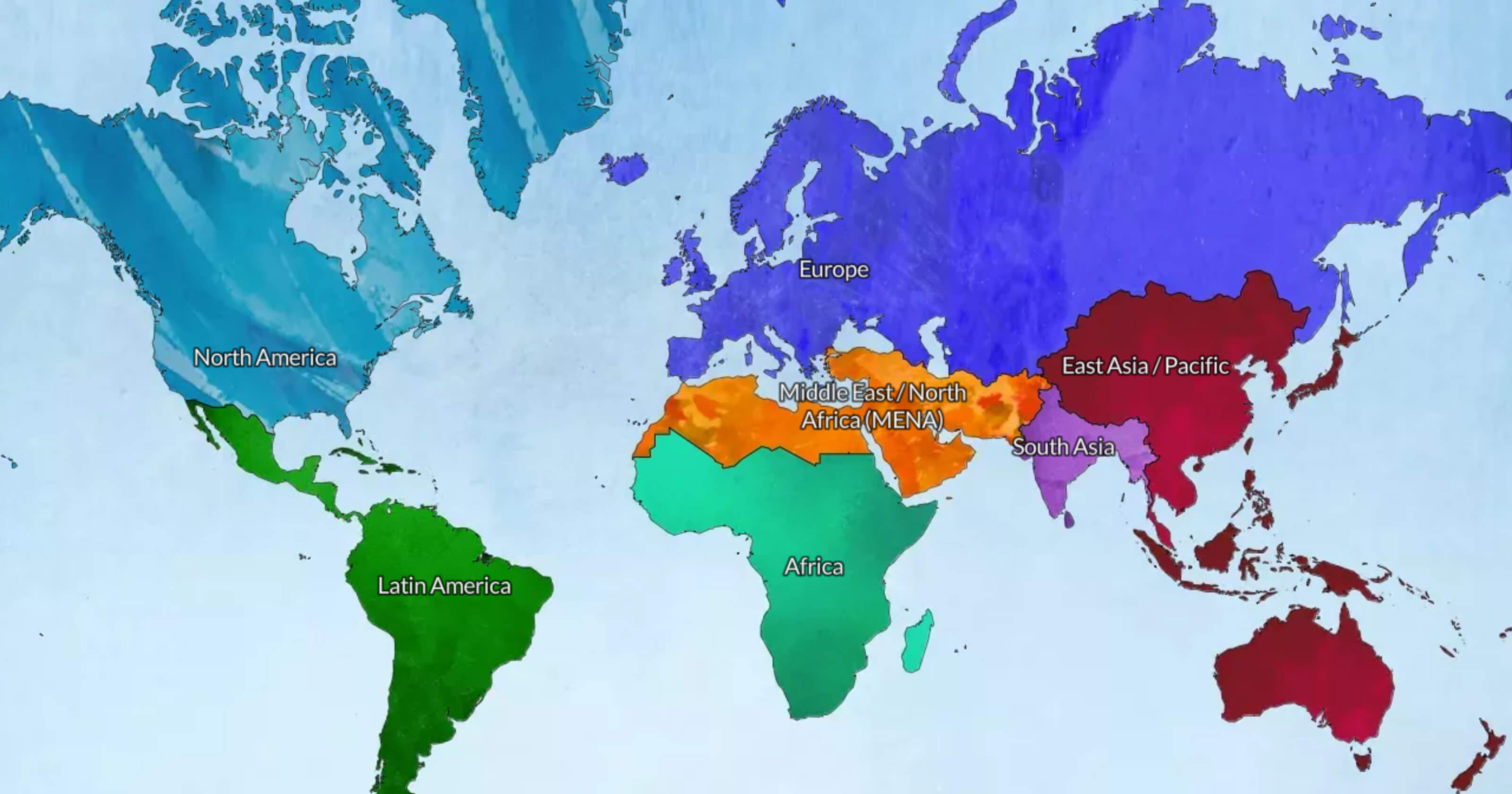 Map Of Europe And South America.Ministry Map Biblica The International Bible Society