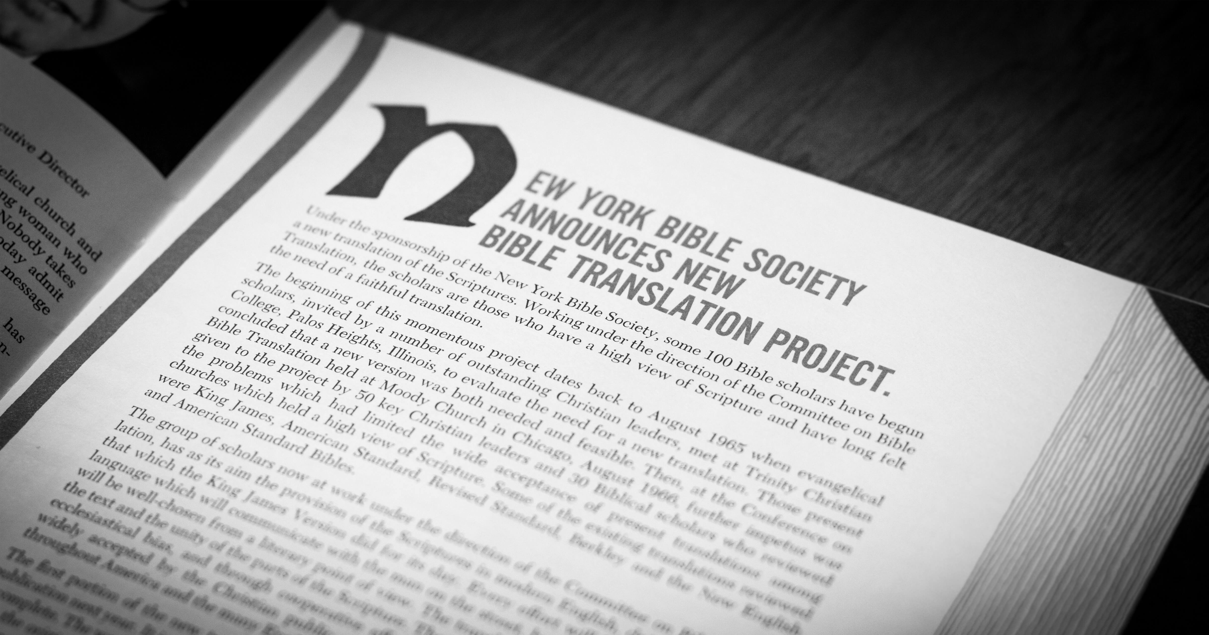 NIV Bible Translation Process | Biblica - The International