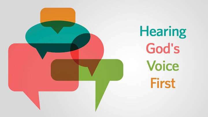 Reading Plan: Hearing God's Voice First